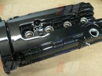 Honda Civic Rocker cover carbon dipped, top view