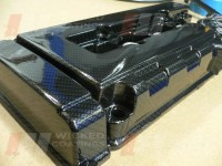 Honda Civic Rocker cover- carbon dipping