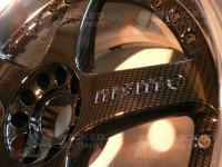 Carbon dipped 2 piece wheel centres