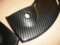 close up carbon dipping- mini interior