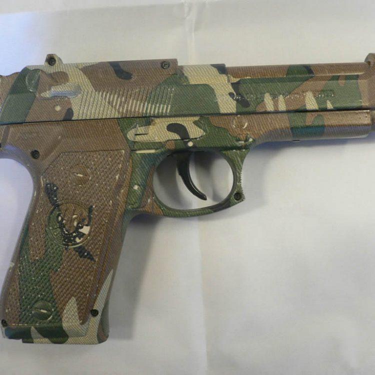 Gun Camo Dipping | Customise Your Gun | Wicked Coatings