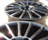 Carbon Dipped Alloy Wheel Refurbishment