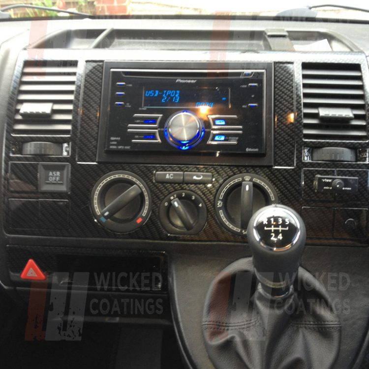 VW Custom Interior | Cabron Dip Van Dashboards