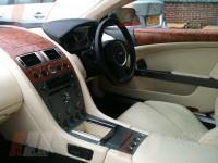 Aston Martin walnut dash coating