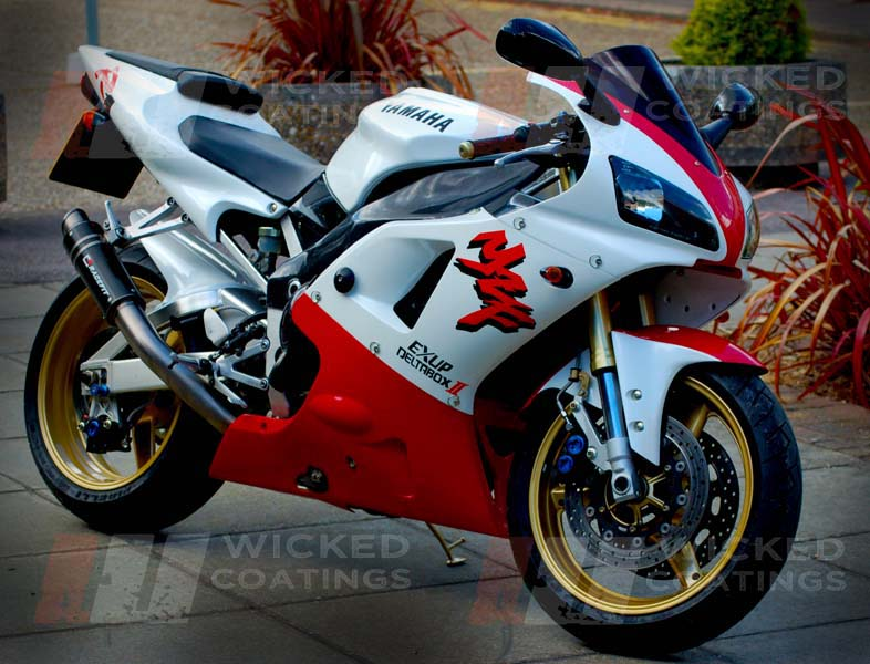 Yamaha Spray Paint >> Yamaha R1 Custom Paint
