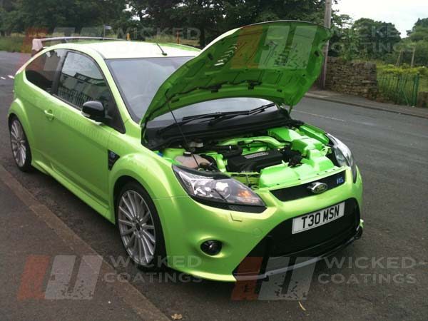 Custom Car Paint On Focus Rs