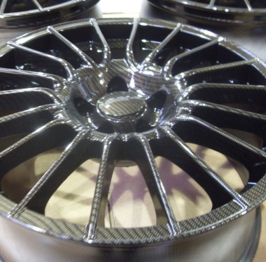Carbon Dipped Alloy Wheels
