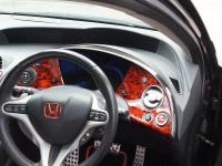 Hydro-dipping-for-Honda-Civic-dashboard