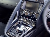 Carbon dipped interior for F Type Jaguar Coupe by hydrographics expert Wicked Coatings