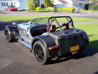 Stunning example of carbon dipping on Caterham 7