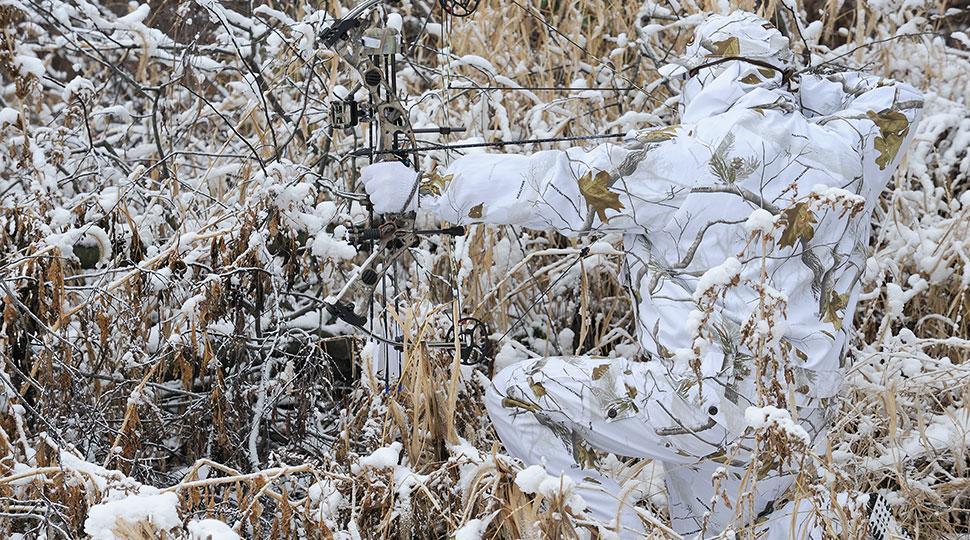 Snowy White White Flames