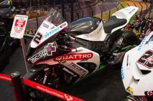 Bournemouth kawasaki BSB bike customised by Wicked Coatings in Poole - hydrographics expert