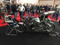 Great side shot of bike customised by Wicked Coatings