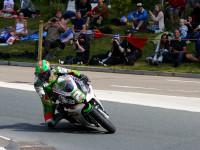 Isle of Man TT 2015. 11th June 2015. James Hillier Kawasaki / Quattro Plant Muc-Off Kawasaki
