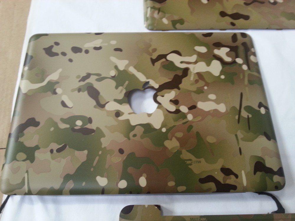 lowest price 46d58 171f9 Wicked Coatings | MacBook Pro Case Coated In Camouflage Hydrographic ...