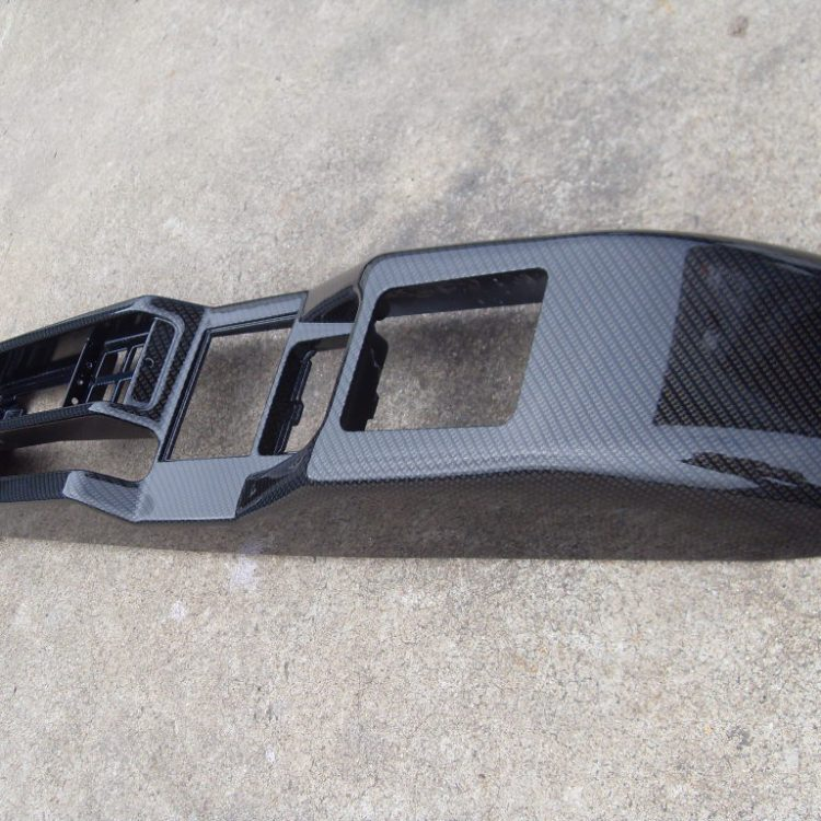 Wicked Coatings | Car interior parts coated in carbon fibre