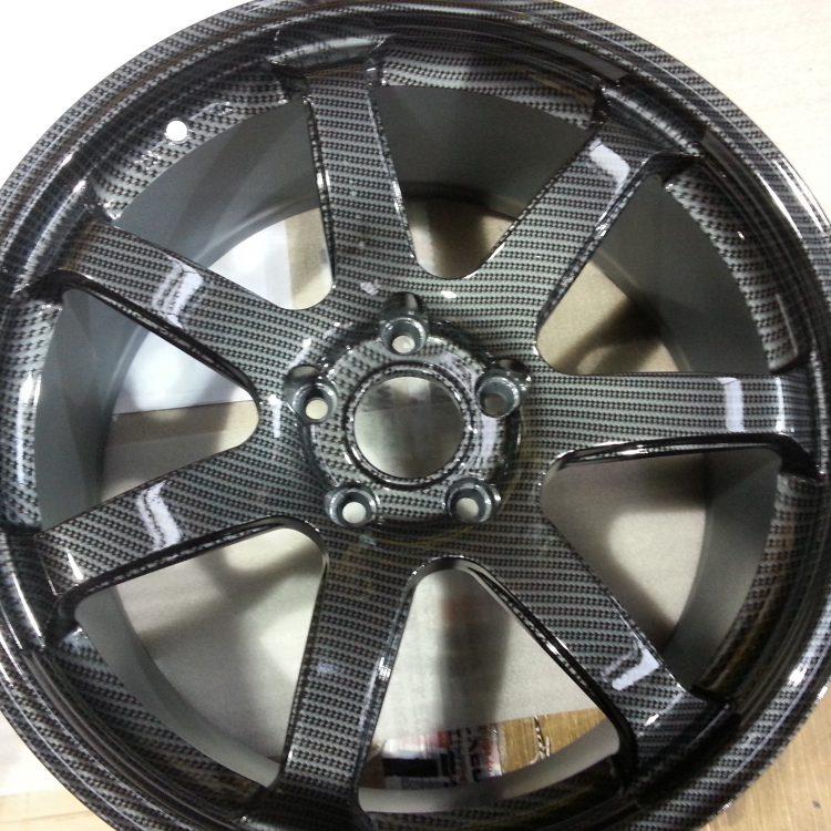 Carbon Fibre Car Wheels >> Wicked Coatings Car Alloy Wheels Coated In Carbon Fibre